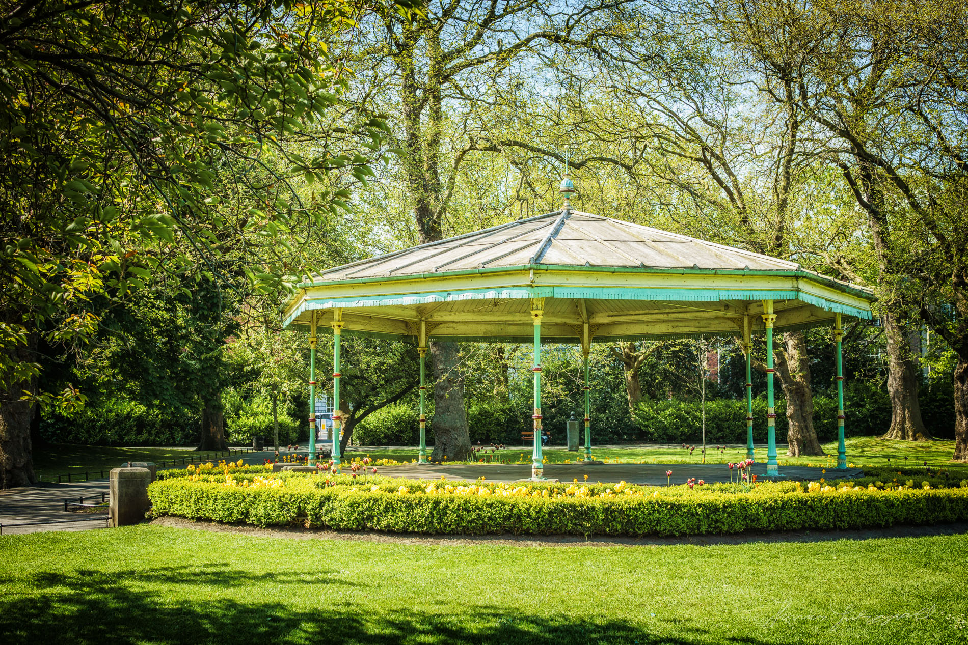 Stephen's Green Bandstand