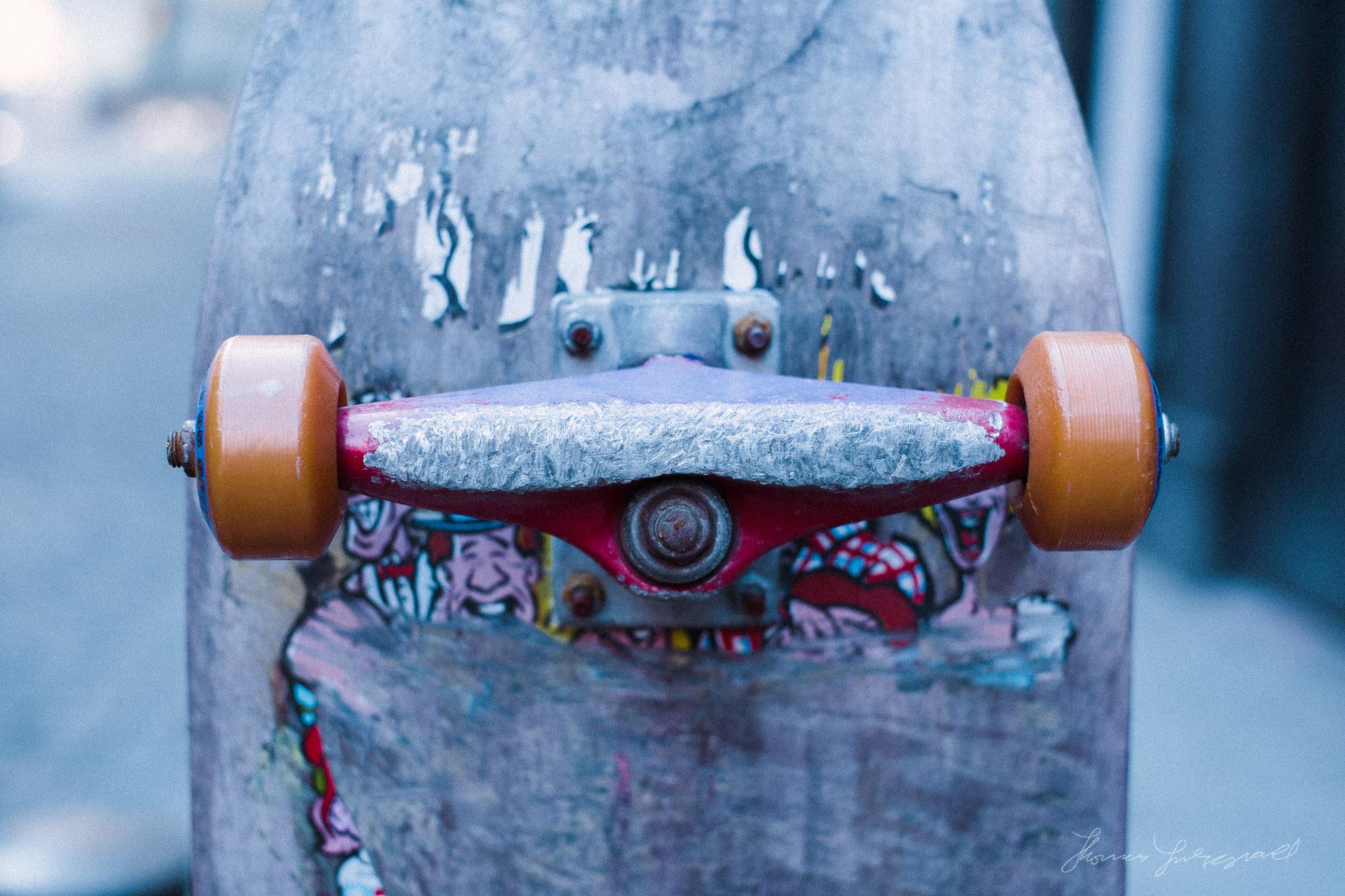 Skateboard Kodak Porta 800