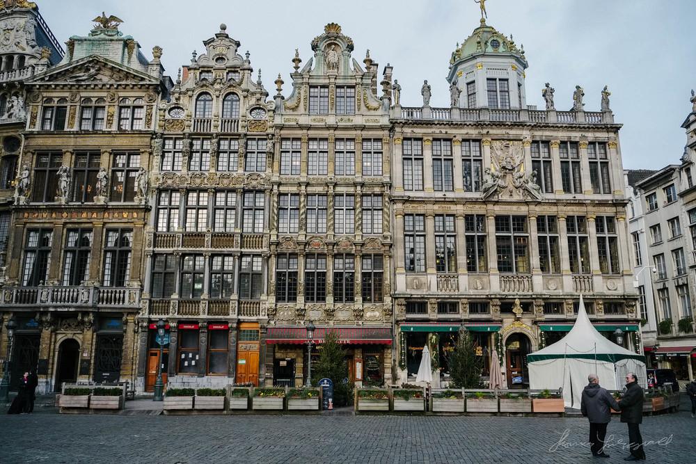 Brussels Grand Place - Fuji XE1