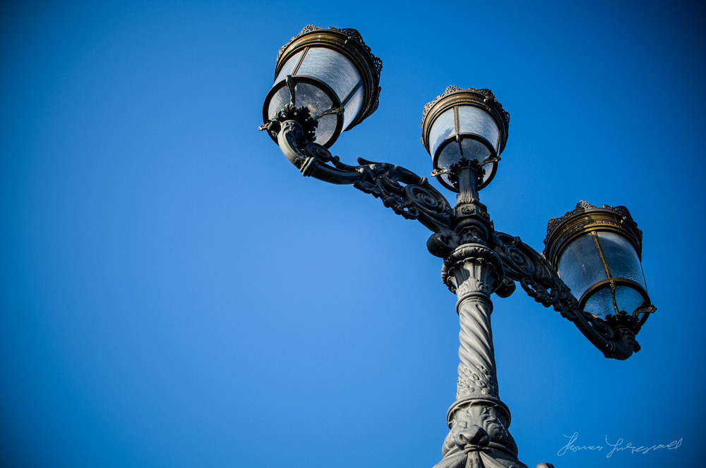 A Dublin Lamp Post