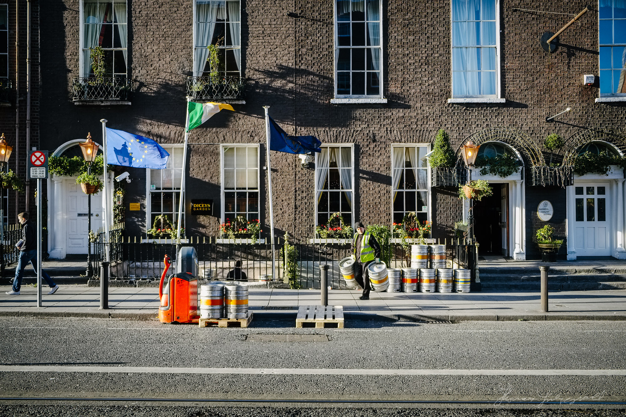 Beer Delivery on Harcourt Street