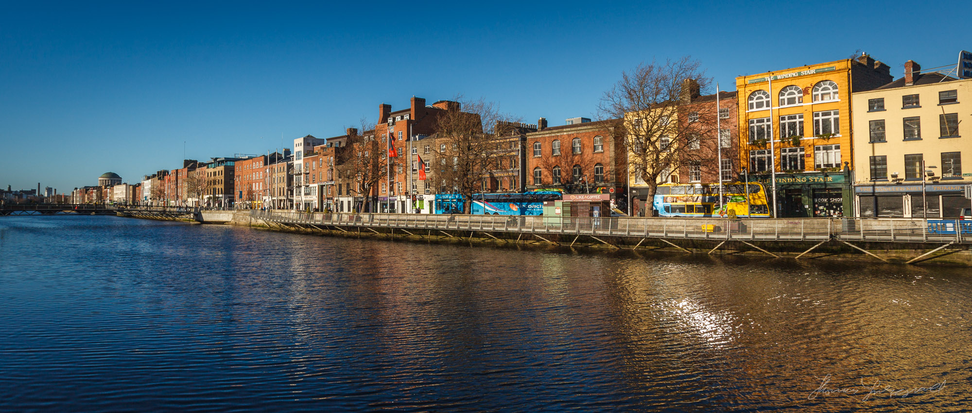 North side of the Liffey
