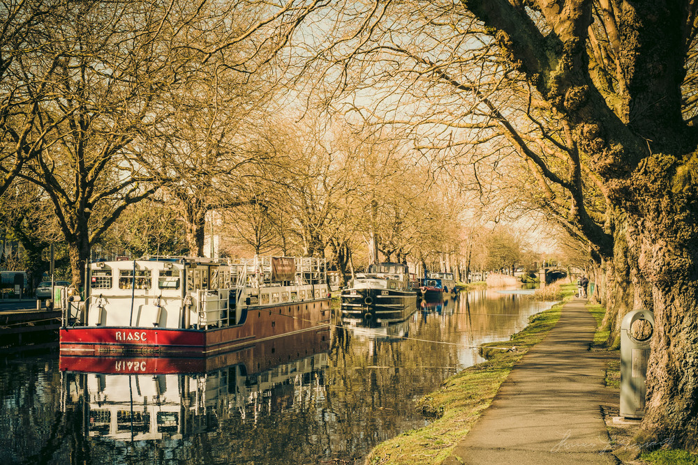 Grand Canal and Barges