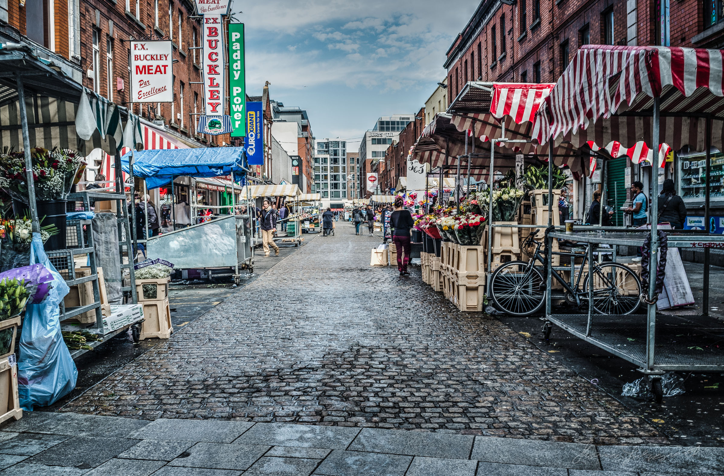 Moore Street This afternoon!