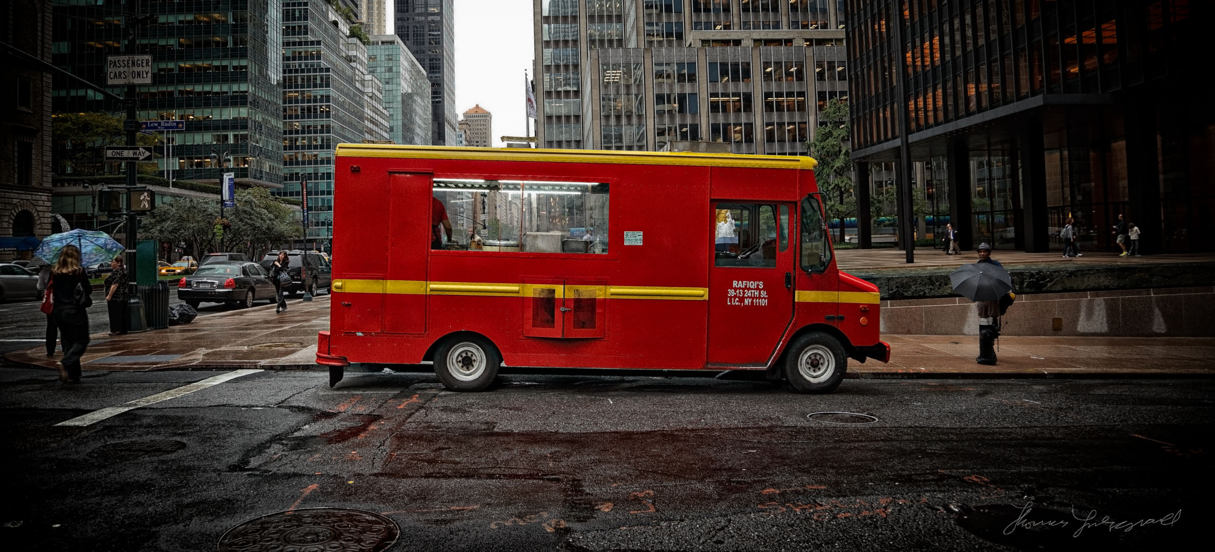 Food Truck in New York City