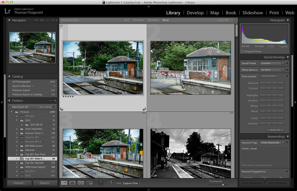 Lightroom-Library