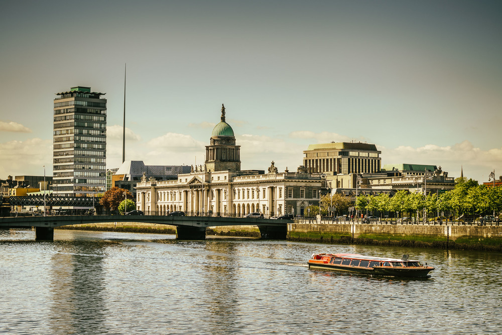 Dublin Liffey - With Landscape Gold Lightroom Presets Applied
