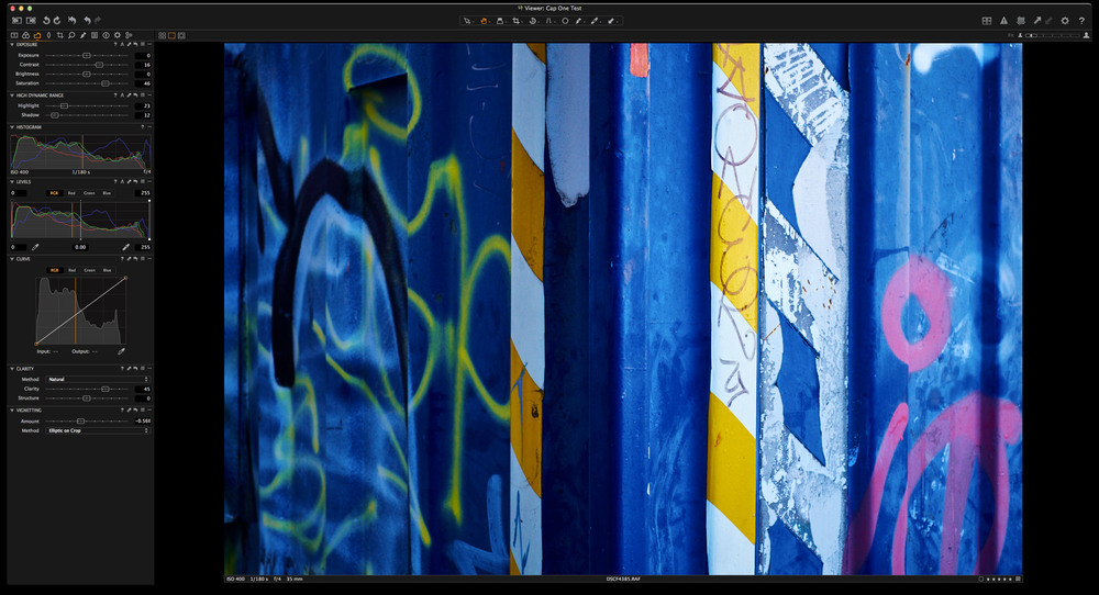 Capture One Pro 8 Interface