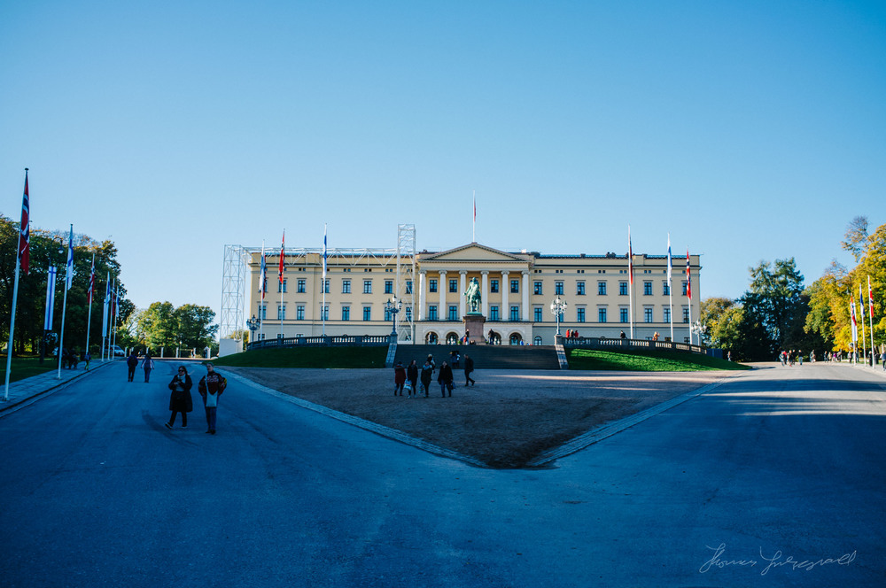 Royal Palace in Oslo
