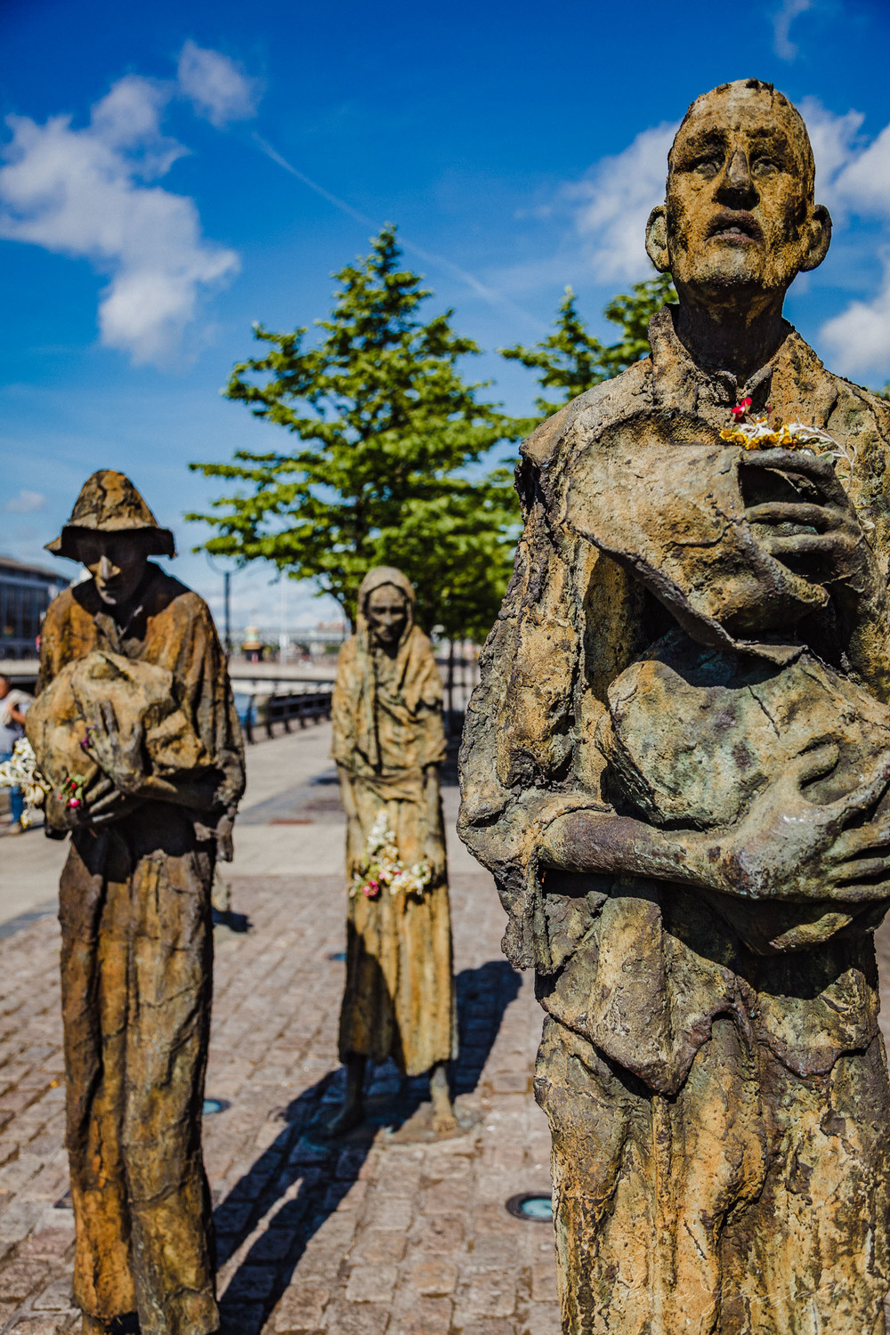 Famine Statues on the Quay