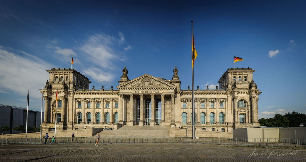 The German Parliament Building, The   Reichstag