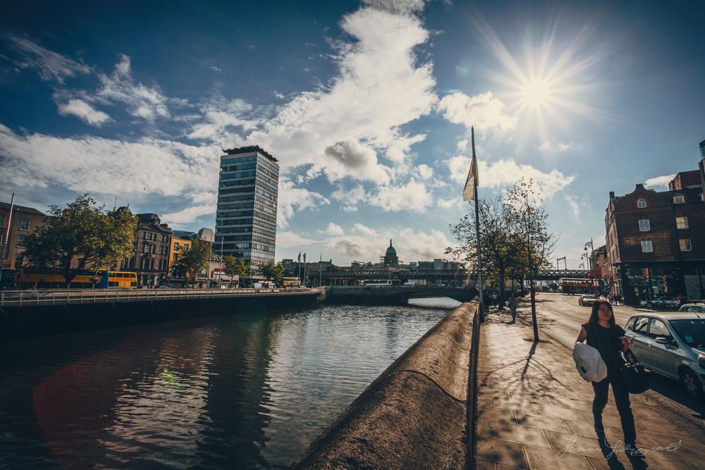 Dublin City Liffey