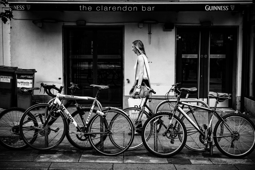 The Girl and The Bikes