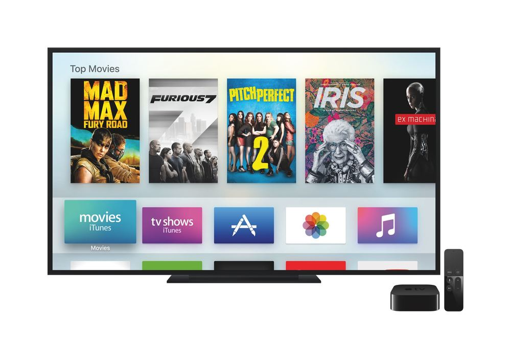 The New Apple TV - Image Courtesy of Apple