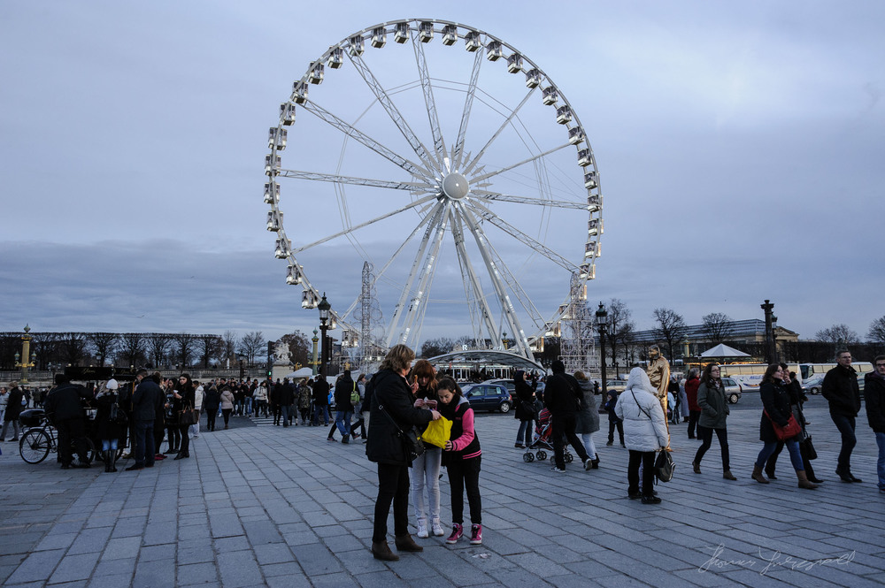 Ferris Wheel, Place De Concorde