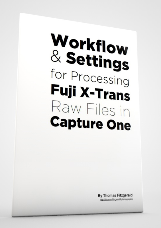 Processing X-Trans files in Capture One - a guidebook