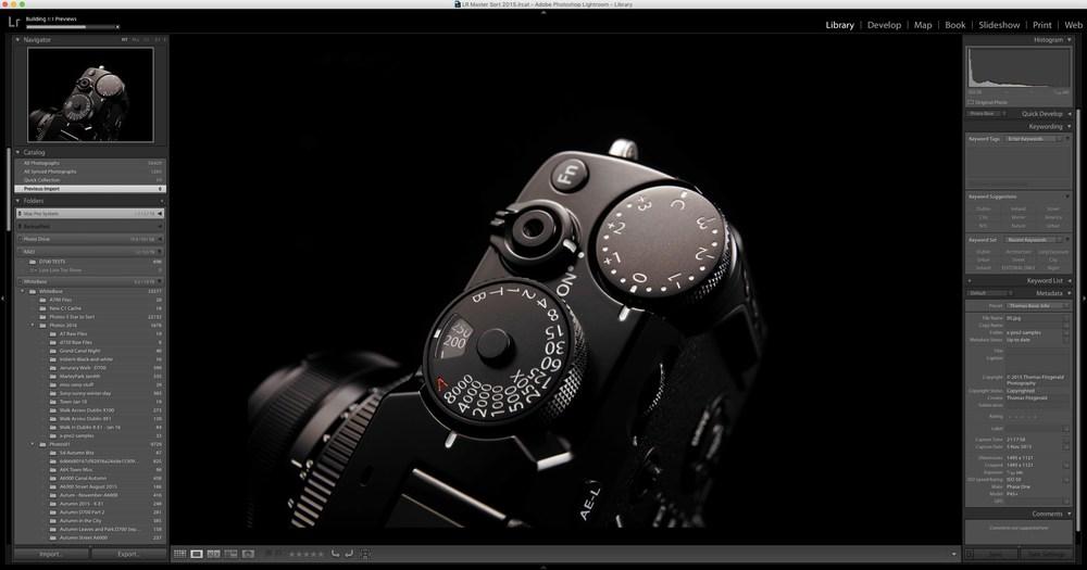 Fuji X-Pro 2 Lightroom Support