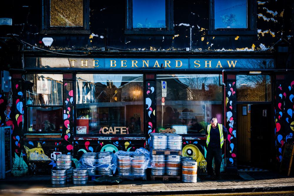 Street Photography Diary - Street Photography of Dublin - The Bernard Shaw pub