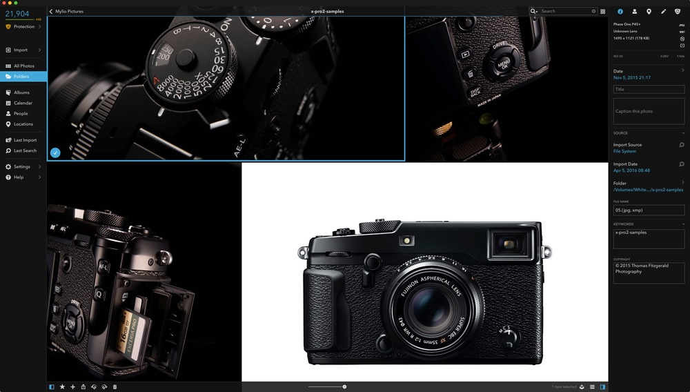 Mylio Adds X-Pro 2 Raw Support