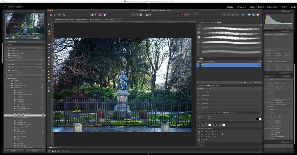 How to use Affinity Photo as an External editor for Lightroom