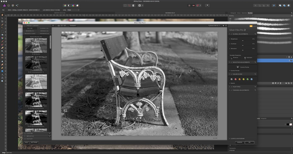 Using Photoshop Plugins in Affinity Photo