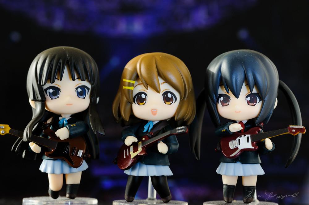 K-On Mio, Yui & Aza-Nyan
