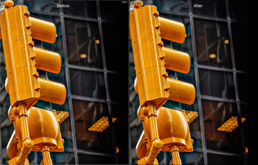 Before and After - How to Reduce Shadow Noise using Lightroom and Photoshop