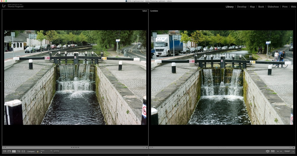 Fuji X-Pro 2 vs Real Film (Just for Fun)