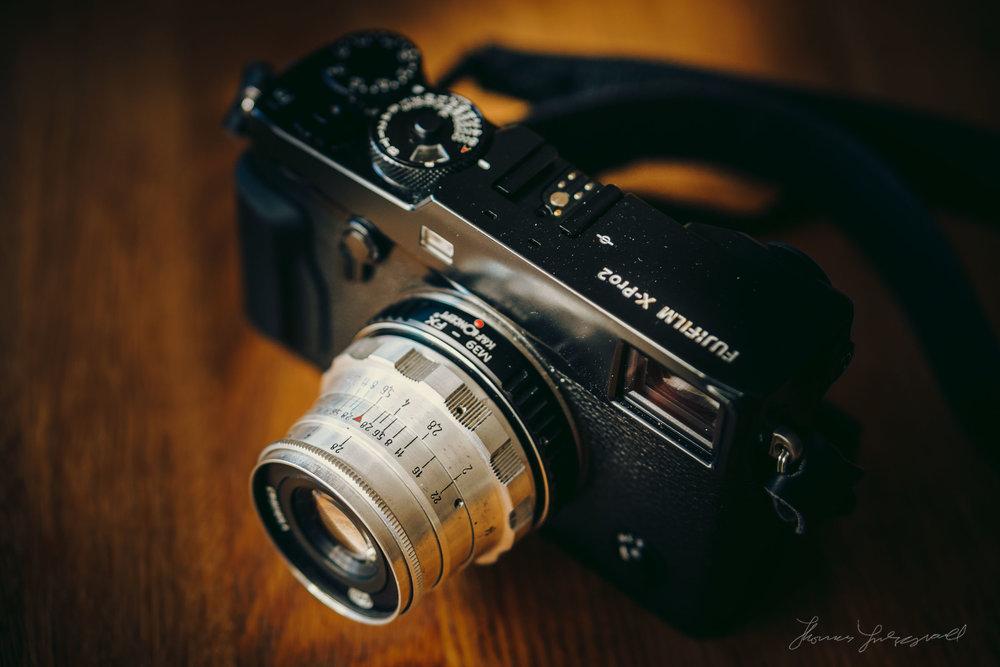 FED Industar 50mm on a Fuji X-Pro 2