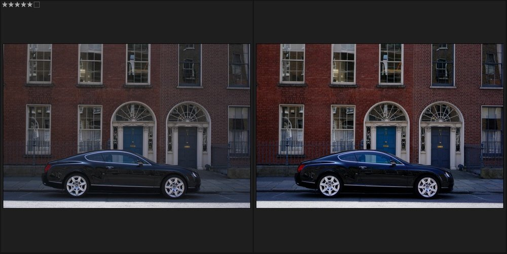 Raw vs Jpeg Colours