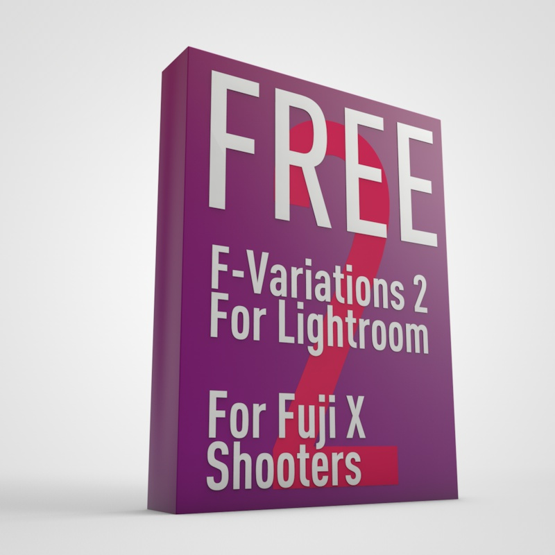 F-Variations 2 - Free Lightroom Presets for Fuji X-Trans Shooters