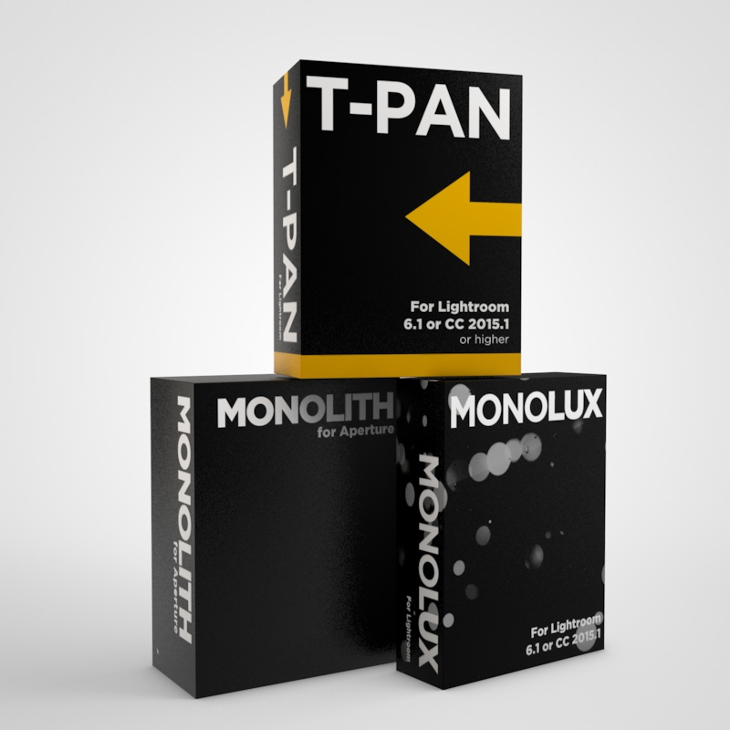 T-Pan for Lightroom - Black and White Lightroom Presets