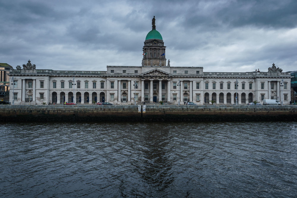 Dublin Custom House in HDR with Lightroom