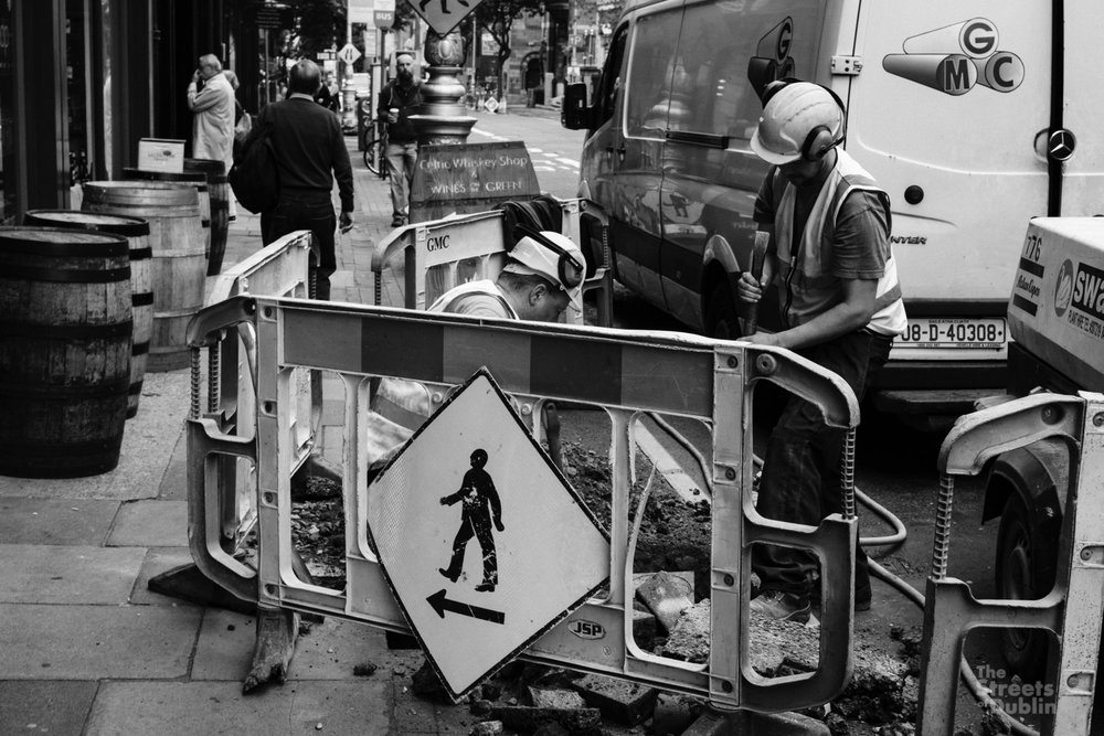 Cross City Luas Construction Works