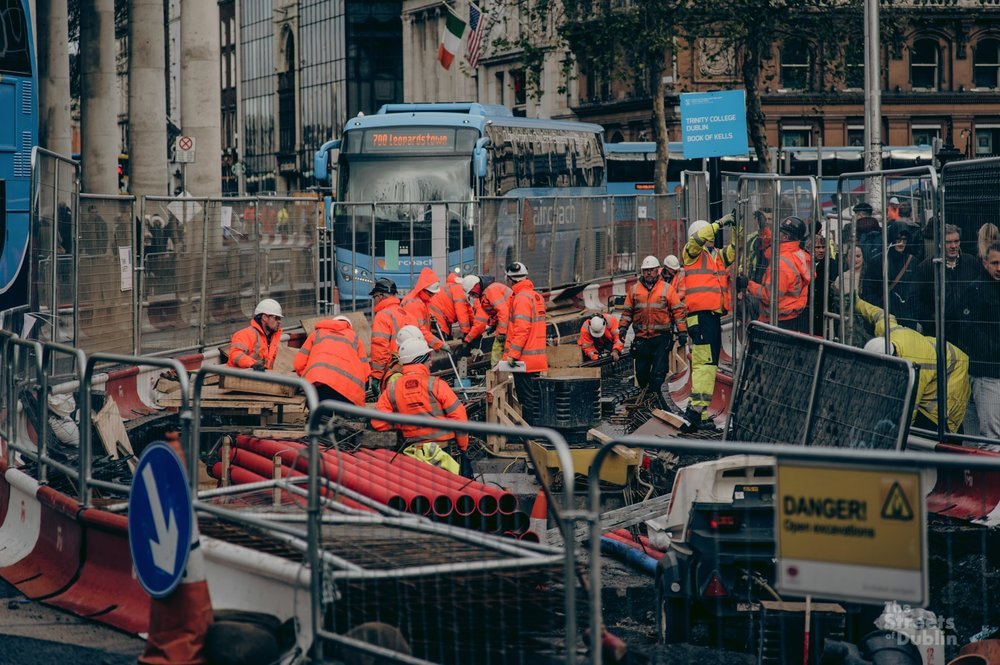 Luas construction works