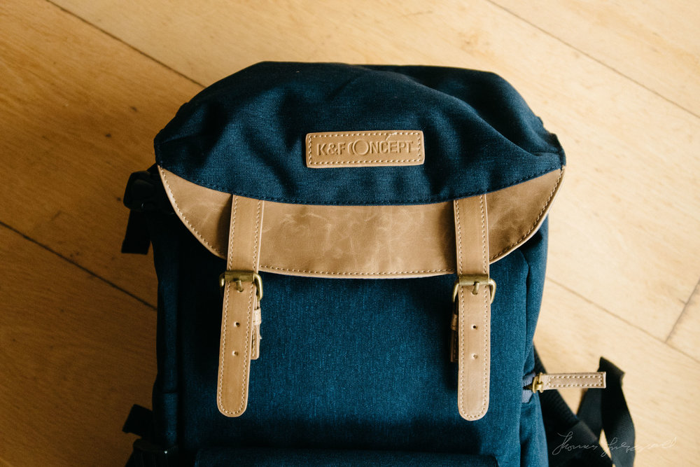 K&F Concept Bag CloseupK&F Concept Bag Review by Thomas Fitzgerald