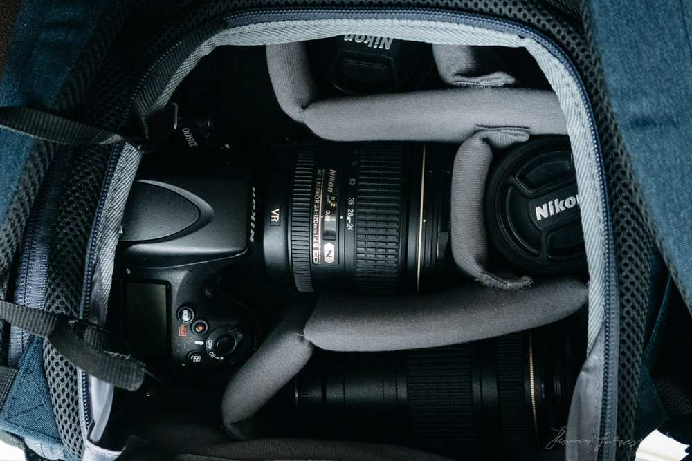 K&F Concept Bag Inside with D800 wider viewK&F Concept Bag Review by Thomas Fitzgerald
