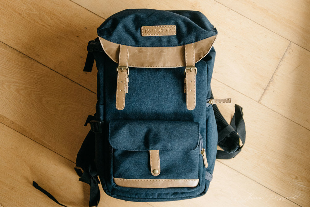 0346e81ba8a First Look Review  DSLR Camera Travel Backpack from K F Concept ...