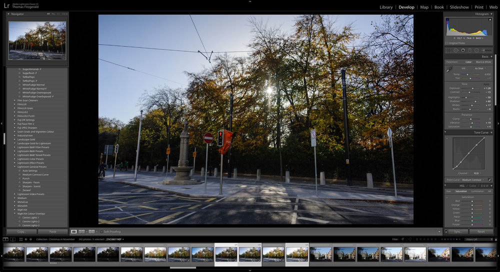 Applying Lightroom's Auto Settings to Multiple Images — Thomas
