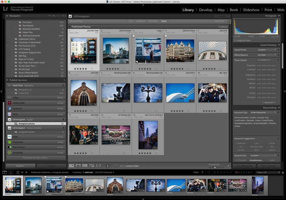 Curating and Posting to Instagram from Lightroom — Thomas