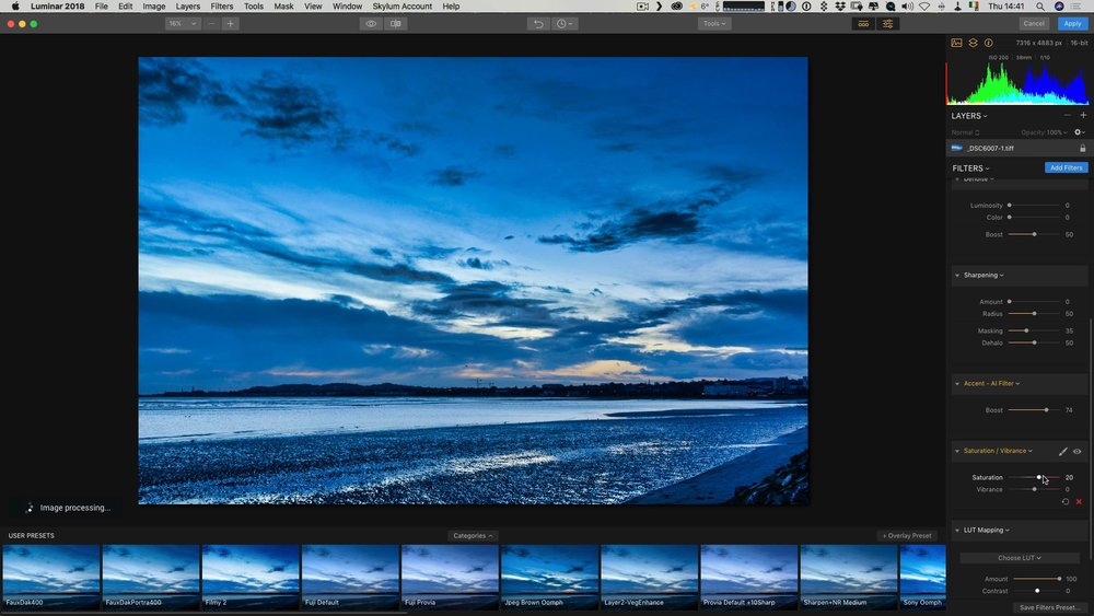 Using Luminar non-destructively from Photoshop and Lightroom