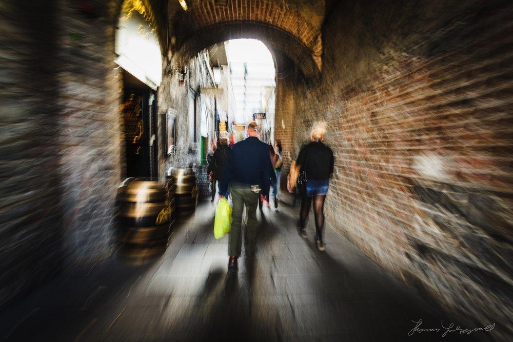 Walking Through Crown Alley