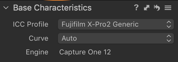 Set Fuji Film Simulations Automatically in Capture One Pro
