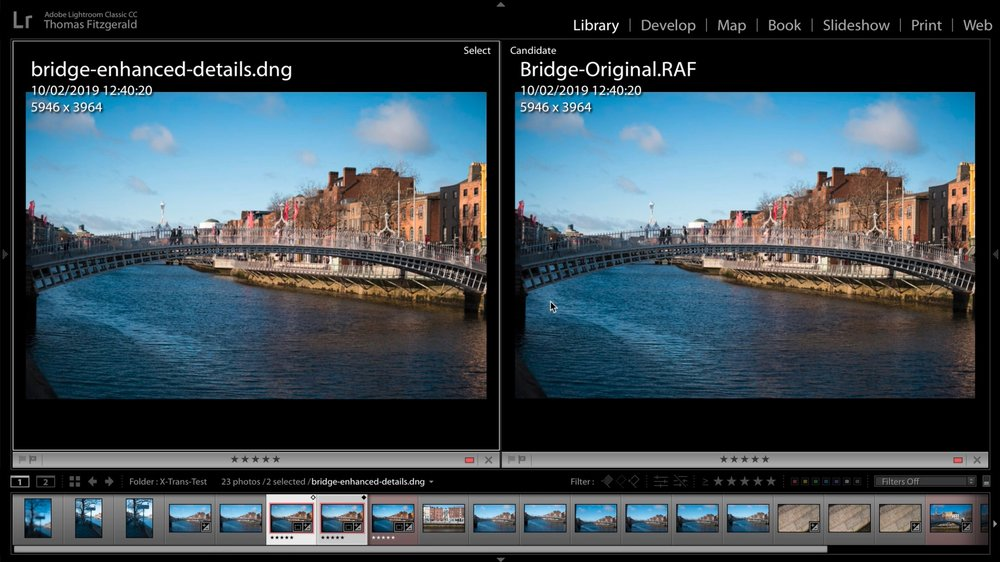 Software Recommendations for Fuji Processing in 2019