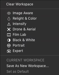 Luminar FLEX Workspaces