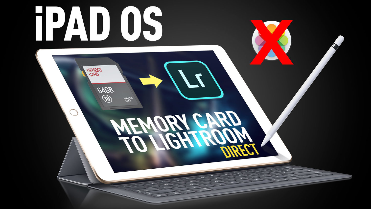 Video: How to import into Lightroom directly from a Memory Card on iPAD OS
