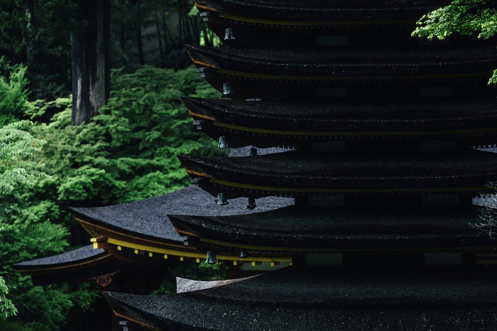 奈良県桜井市の談山神社にて