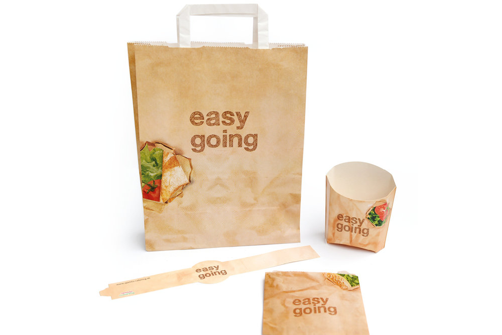 Packaging - easy going.