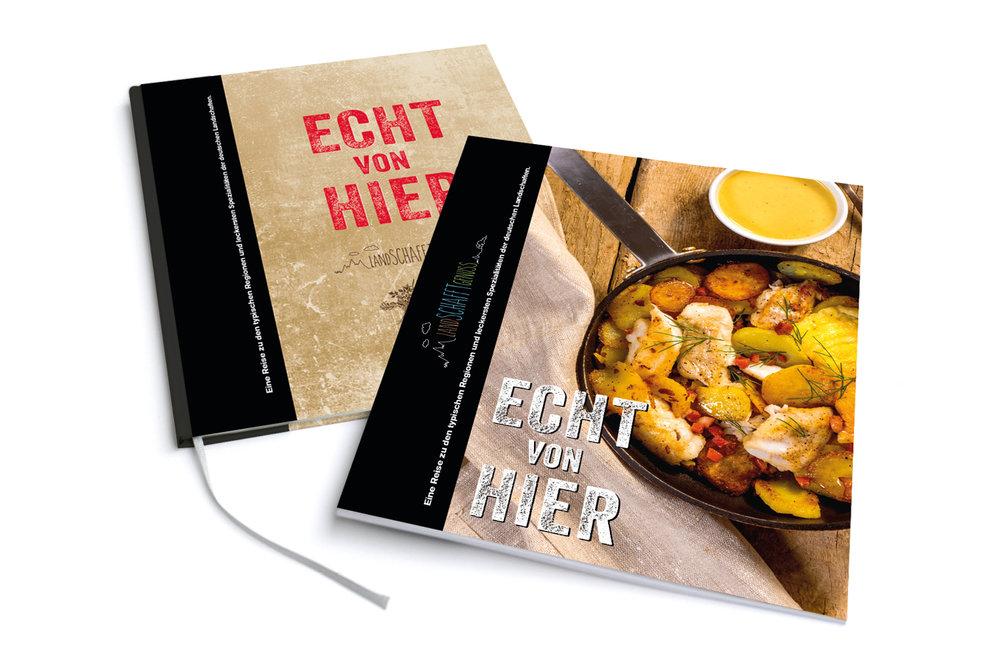 Kochbuch - Echt von Hier.