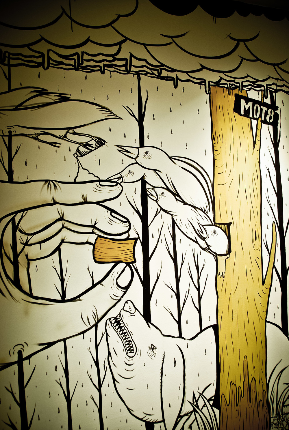 arco o2 mot8 street art style